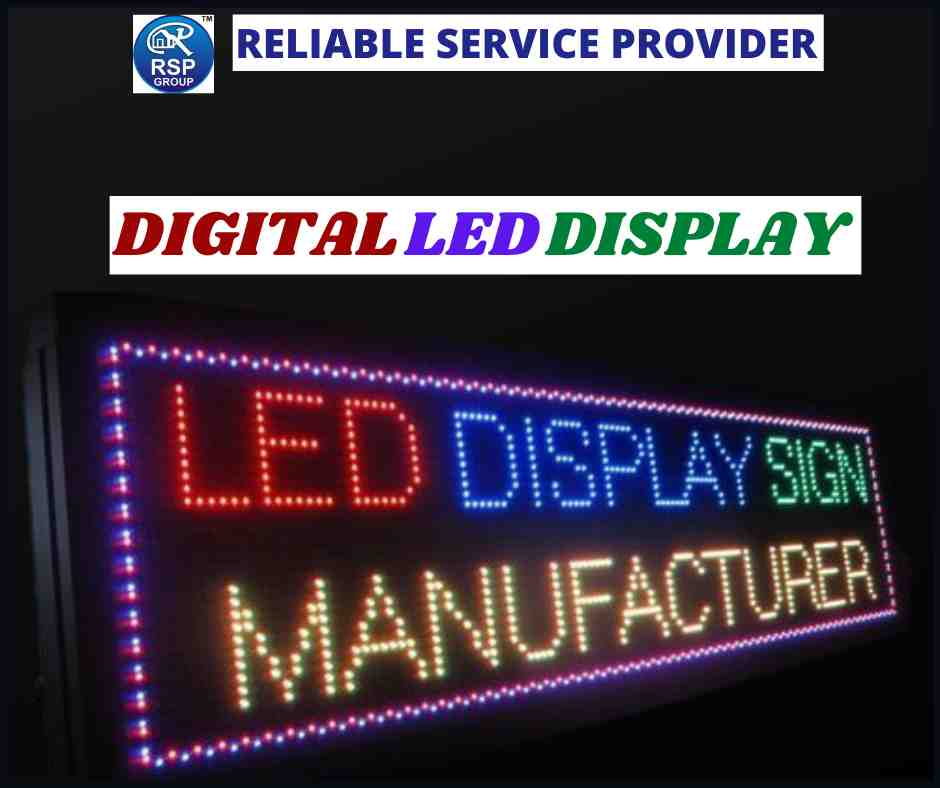 Best Digital LED Display Services in India
