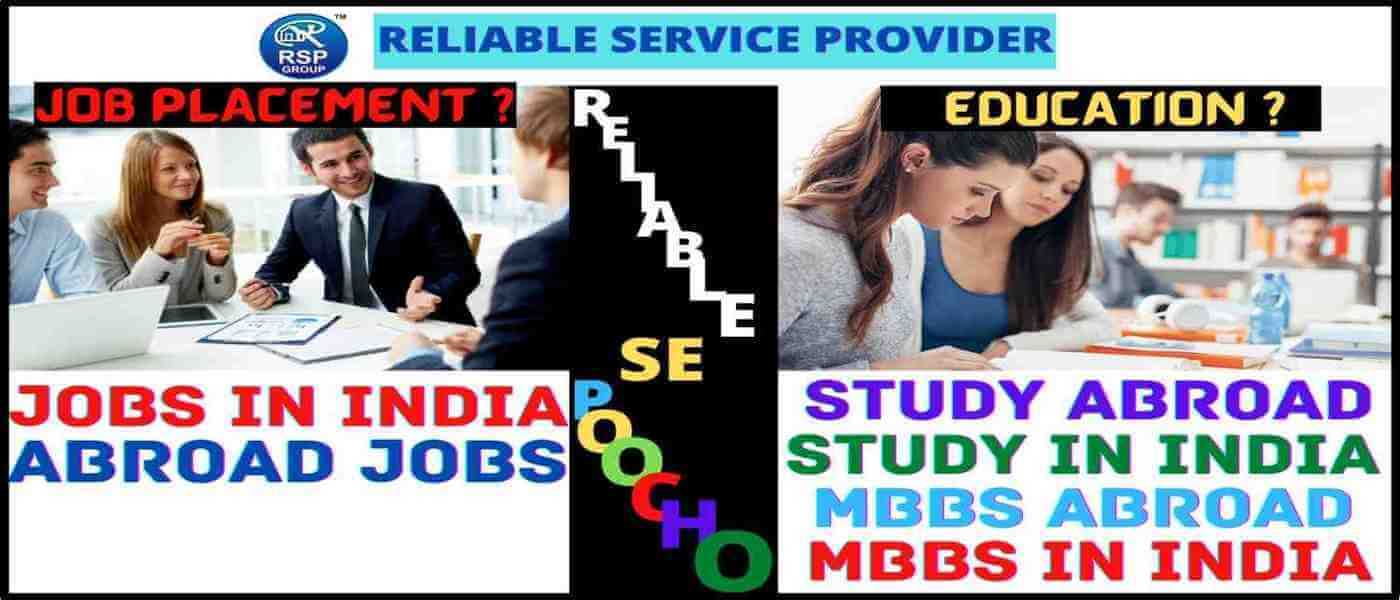 Best Education and Job Placement Consultant in India