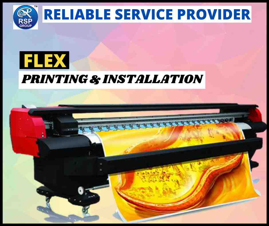 Best Flex Printing and Installation Services in India