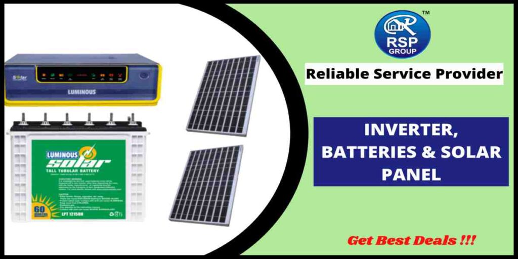 Buy Inverter Battery and Solar Panel in India