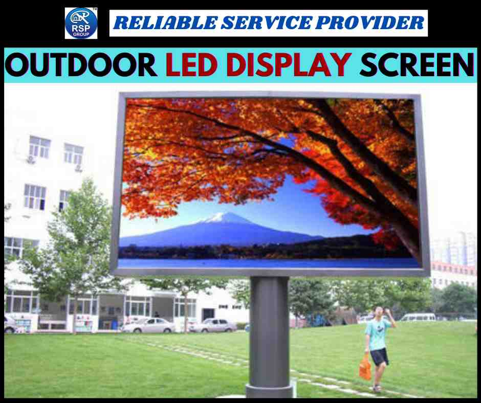 Best Outdoor LED Display Screen Services in India
