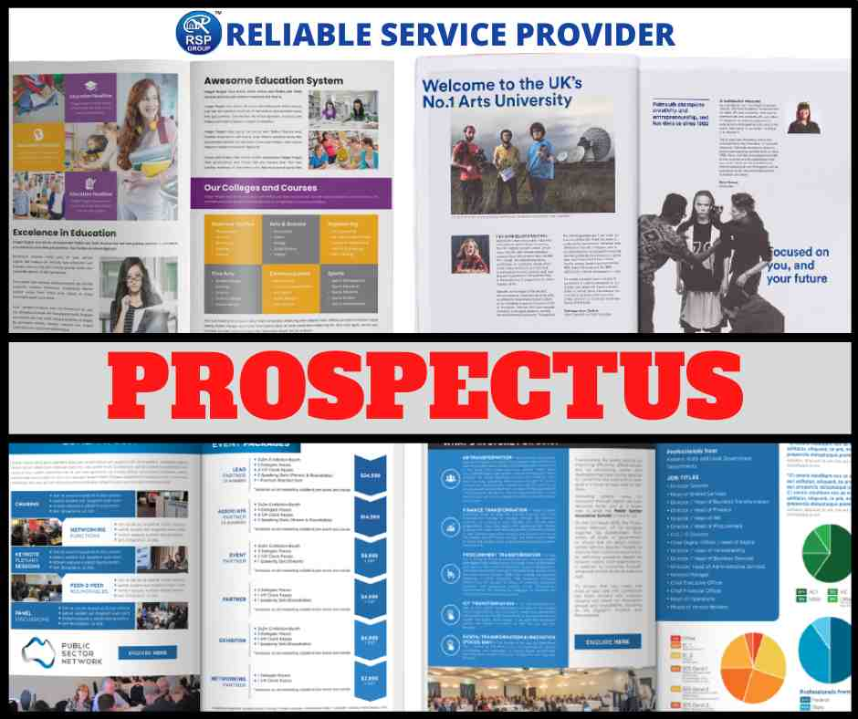 Best Designing and Printing Services of Prospectus in India
