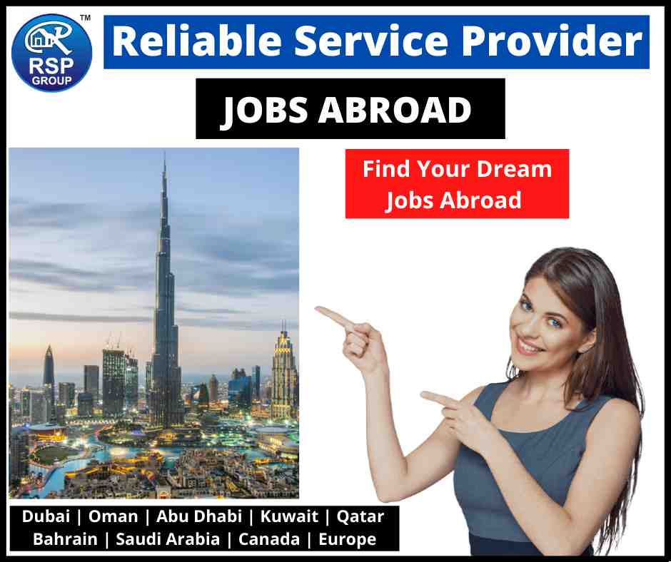 Best Abroad Jobs Consultant in India